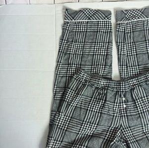 VICTORIA'S SECRET black and white lounge pants